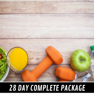 28 Day Complete Package  – Female – Weightloss