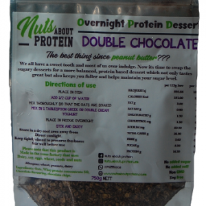 Overnight Protein Dessert – Double Chocolate 750g
