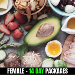 KETO/High Fat Low Carbs – Female (14 Day Plan)