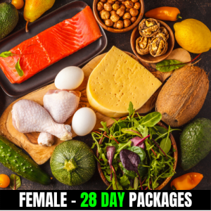 KETO/High Fat Low Carbs – Female (28 Day Plan)