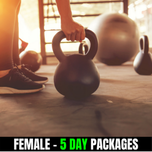 BodyBuilding Combos – Female ( 5 day & Up meals)