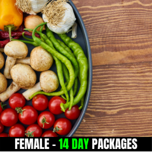 Vegan – Female (14 Day Plan)