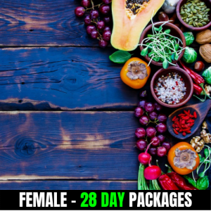 Vegan – Female (28 Day Plan)