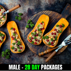 Vegan – Male (28 Day Plan)